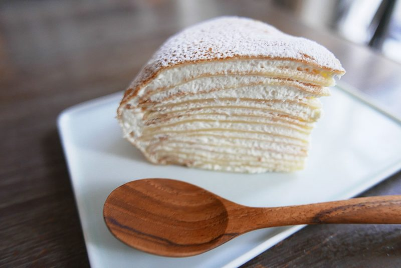 durian crepe cake